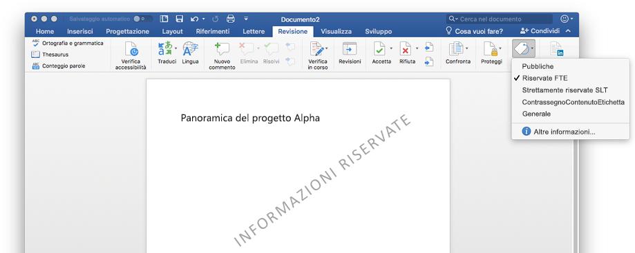 Microsoft 365 e la strategia di protezione delle informazioni per la conformità al regolamento RGPD